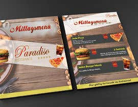 #25 for Design a beautiful onepager menu for a restaurant by Anindoray