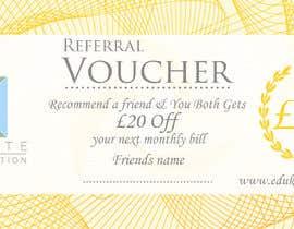#262 for Voucher/flyer by LokeshSharma0204