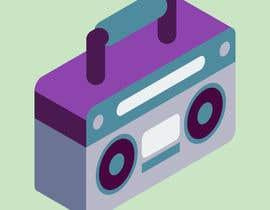 #82 for Radio player app logo af tanverahmed93