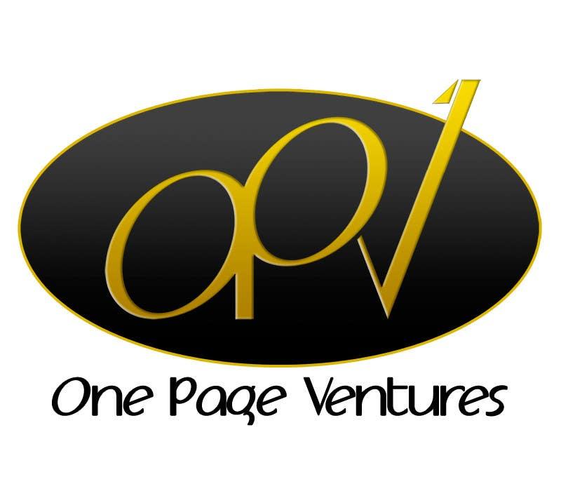 Inscrição nº                                         17                                      do Concurso para                                         Logo Design for OnePageVentures - start up company