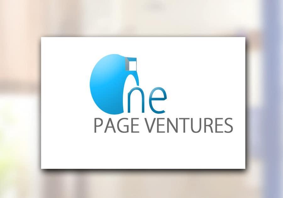 Inscrição nº                                         145                                      do Concurso para                                         Logo Design for OnePageVentures - start up company