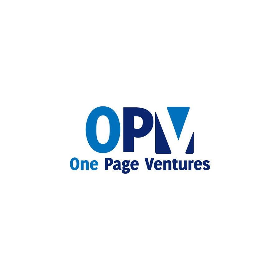 Inscrição nº                                         11                                      do Concurso para                                         Logo Design for OnePageVentures - start up company