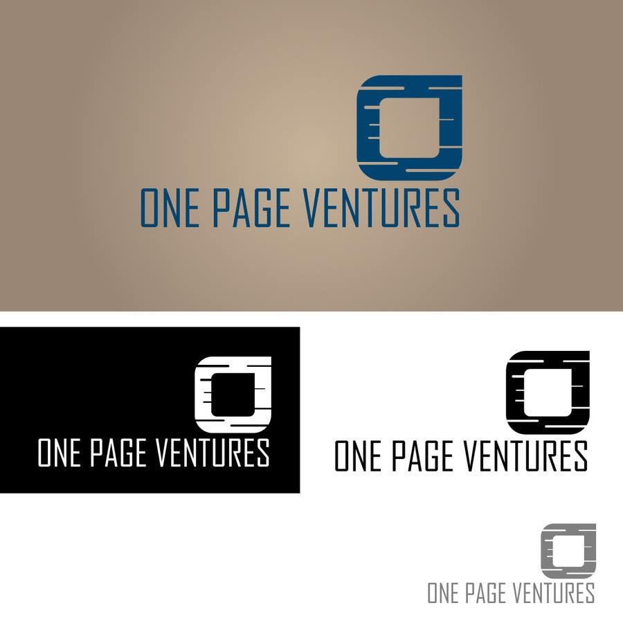 Inscrição nº                                         80                                      do Concurso para                                         Logo Design for OnePageVentures - start up company