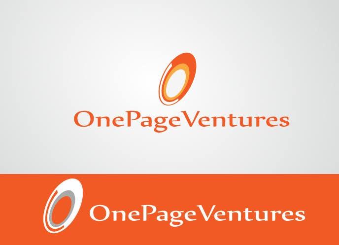 Inscrição nº                                         110                                      do Concurso para                                         Logo Design for OnePageVentures - start up company