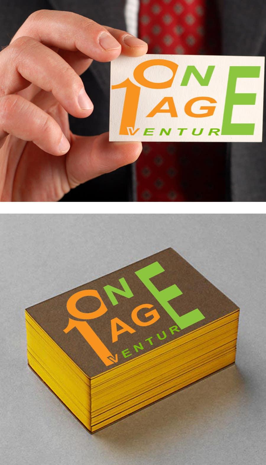 Inscrição nº                                         161                                      do Concurso para                                         Logo Design for OnePageVentures - start up company