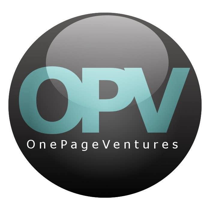 Inscrição nº                                         8                                      do Concurso para                                         Logo Design for OnePageVentures - start up company