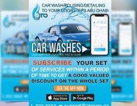 Nro 22 kilpailuun Create attractive poster for car wash monthly subscription käyttäjältä tanbir220