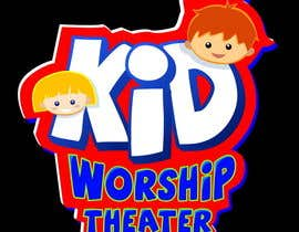 nº 4 pour Logo Design for Children's Worship Theater par Stevieyuki