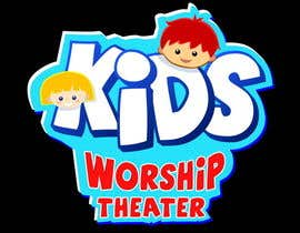 nº 5 pour Logo Design for Children's Worship Theater par Stevieyuki