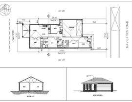 #10 for Single Storey Design - 20 Square Home - Floor Plan & Facade av yorp