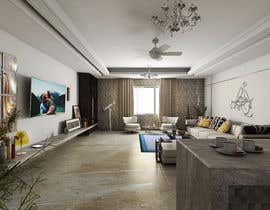 #43 for I want a modern design for my living room and i want to include in it a coffe bar and some wood style av Rafiq2D