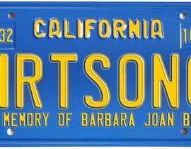 #10 pentru Digital Image of a License Plate de către JuliaB89