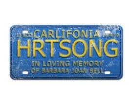 #16 pentru Digital Image of a License Plate de către legalpalava