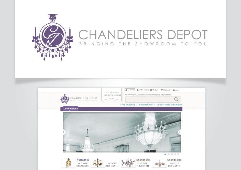 Bài tham dự cuộc thi #                                        9                                      cho                                         Logo Design for Chandeliers Site