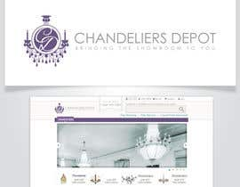 #9 para Logo Design for Chandeliers Site por AlignmentGS