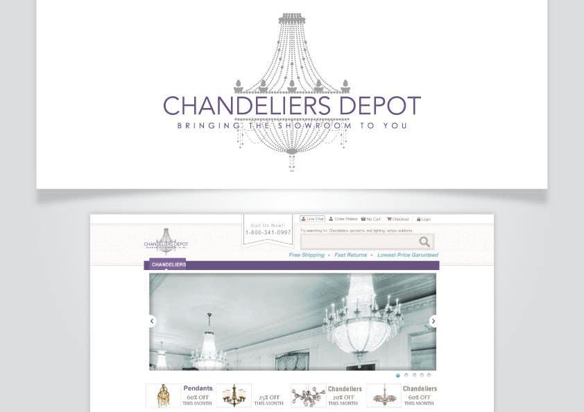 Inscrição nº 15 do Concurso para Logo Design for Chandeliers Site
