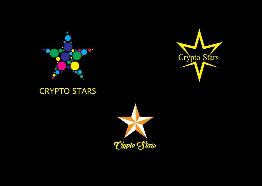 """Proposition n°93 du concours DESIGN me Logo for """"Crypto Stars"""""""