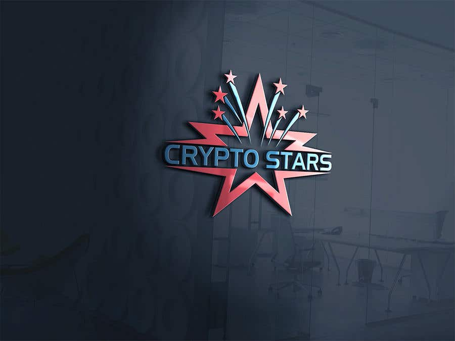 """Proposition n°390 du concours DESIGN me Logo for """"Crypto Stars"""""""