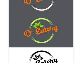 "#87 for The logo should comprise of bright colors preferably orange with other additions. The name of the cafe would be ""D' Eatery"". The type of food would be beverages along with street food. The cafe will be set up on a shipping container. av denistarcomreal"