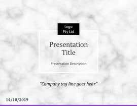 #37 untuk Slide Template Design - For Professional Powerpoint Presentation oleh jcvikash