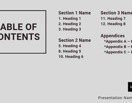 #68 untuk Slide Template Design - For Professional Powerpoint Presentation oleh NADAFATI