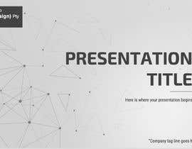 #77 for Slide Template Design - For Professional Powerpoint Presentation by hudanrl