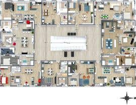 #30 pentru Create a small hotel floorplan that feels like a mansion and not a typical hotel de către angellopez1
