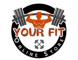 #44 untuk Design a logo for a new fitness online store oleh AimanRahman