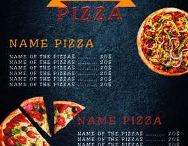 #15 for Menu Redesigned for Pizza Shop by ouajihmajid