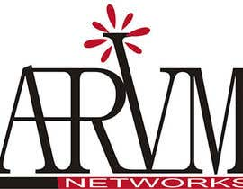 #122 para Logo Design for ARVM Networks por JoeBrat81