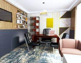 #29 untuk 3D model for an office (financial advisor) oleh asmaamohamed7104