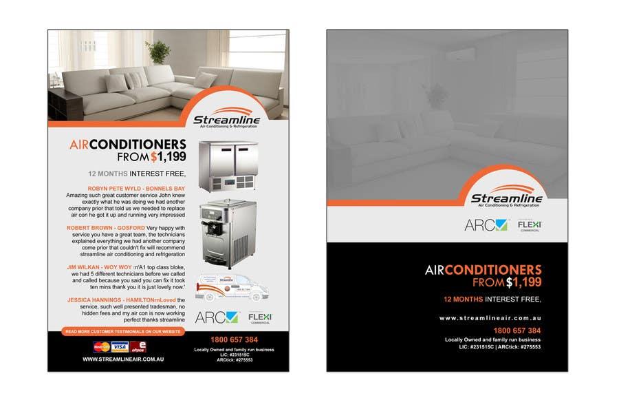 Inscrição nº 16 do Concurso para Advertisement Design for two a5 flyers