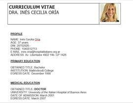 #8 cho Curriculum Vitae - Medical Doctor: Translation From Spanish to English and format bởi SurayaAhmad98
