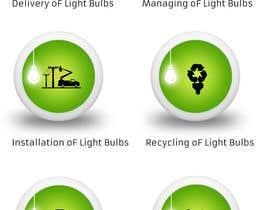 vkandomedia tarafından Light Bulb Store Button / Icons için no 86