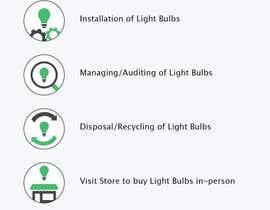 sebcornelius tarafından Light Bulb Store Button / Icons için no 51