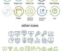 #38 for Icons needed for a real estate website back end admin panel af harrisonRosevich