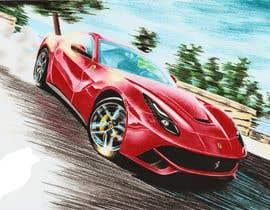 #51 для Tshirt artwork based on a real life car от parvezahmadjoy