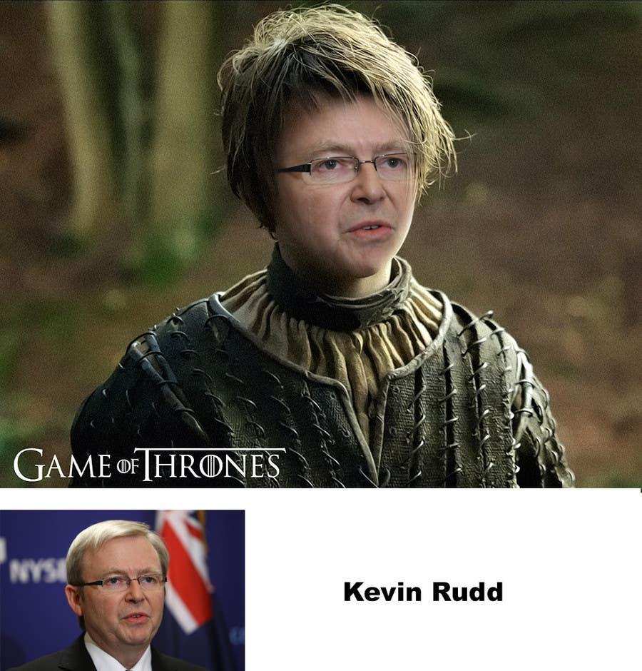 Penyertaan Peraduan #29 untuk Photoshop Aussie Politicians into Game of Thrones Mashup