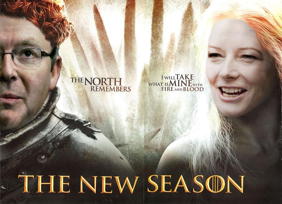 #49 for Photoshop Aussie Politicians into Game of Thrones Mashup by alexdlee