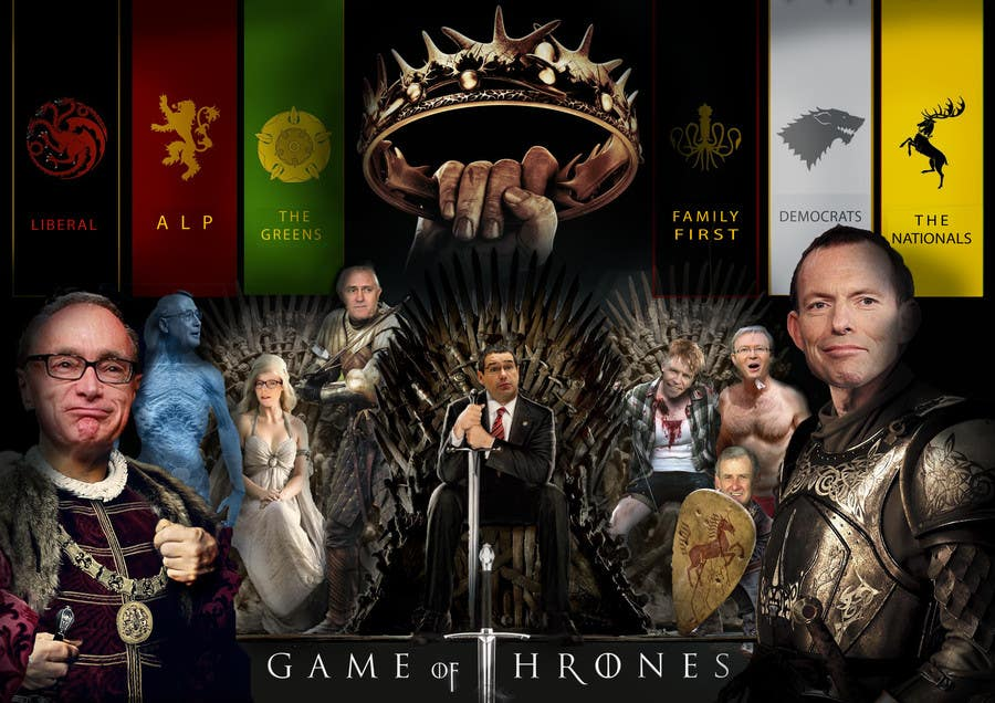#160 for Photoshop Aussie Politicians into Game of Thrones Mashup by franceslouw