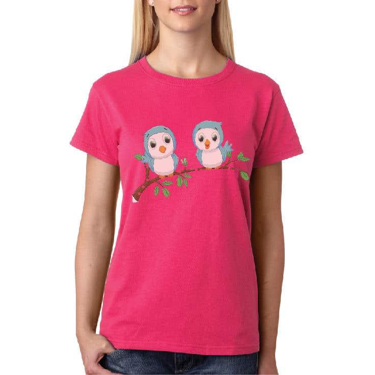 Kilpailutyö #146 kilpailussa Fun Designs for Ladies Nightshirts