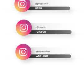 #49 for Name and Instagram Logo for Youtube Nametag af ferdoushasan40