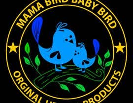 #43 untuk Mama Brid Baby Bird logo design oleh sukeshroy540