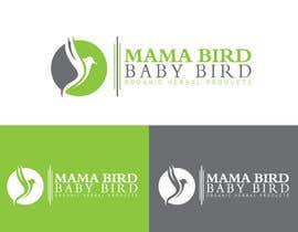 #51 untuk Mama Brid Baby Bird logo design oleh MDSalehAhmed