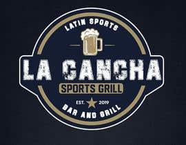 #80 for Create a Logo for Latin Sports Restaurant af kamileo7