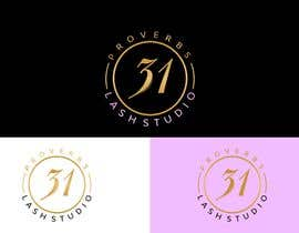 """#89 for I need a logo created for a lash salon. It needs to say """"Proverbs 31 Lash Studio"""" would like Proverbs 31 in gold and lash studio in rose gold or light pink. by diliprojmala"""