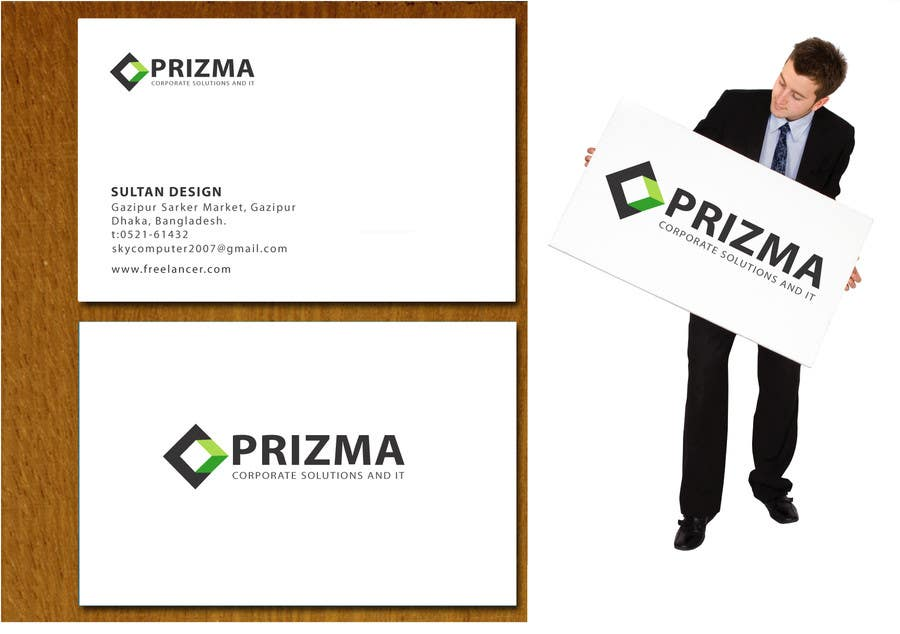 "Konkurrenceindlæg #119 for Logo Design for ""Prizma"""