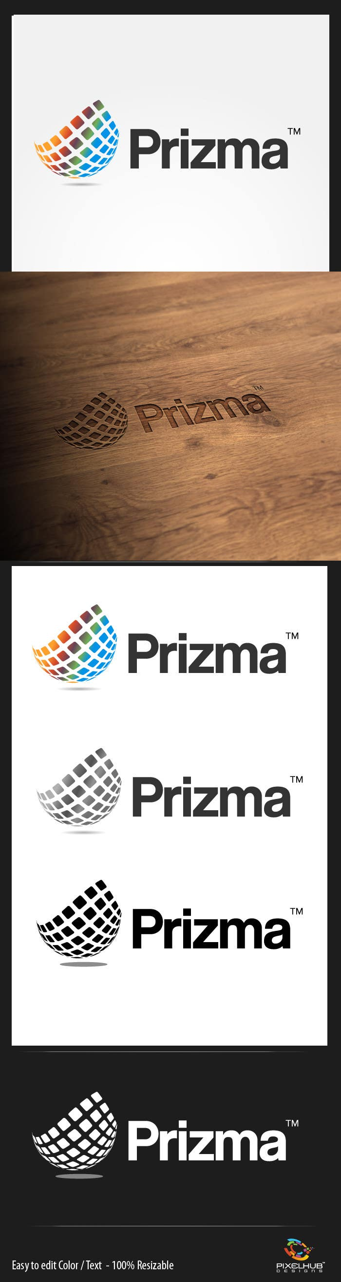 "Proposition n°139 du concours Logo Design for ""Prizma"""