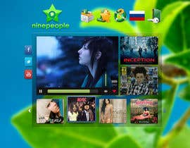 #17 for Website Design for NinePeople.com by minimani