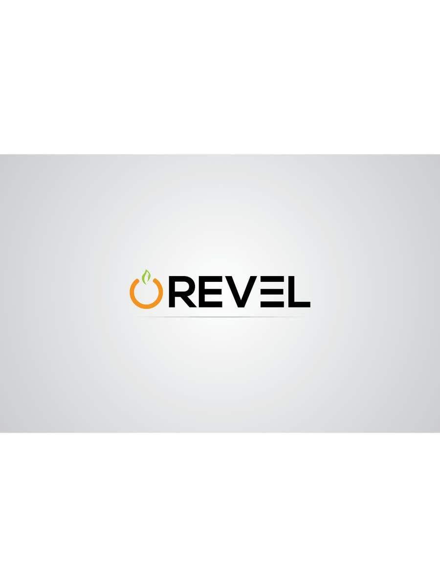 """Penyertaan Peraduan #226 untuk design """"revel"""" a brand logo"""